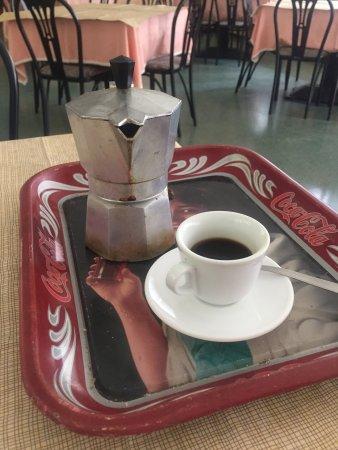 Monte San Pietrangeli, Italy: Caffè con la Moka 👍😜