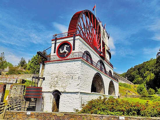 ‪The Great Laxey Wheel‬