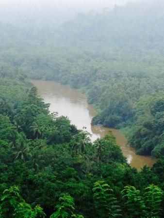 Ratnapura, Sri Lanka: Front river view