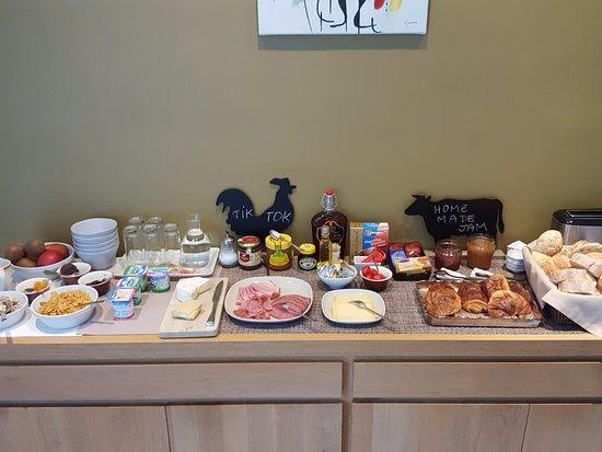 Bed en Breakfast saBBajon: Superb breakfast choice