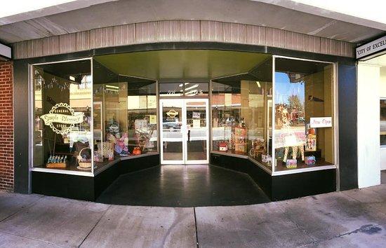 Simple Blessings General Store in downtown Elizabethton TN
