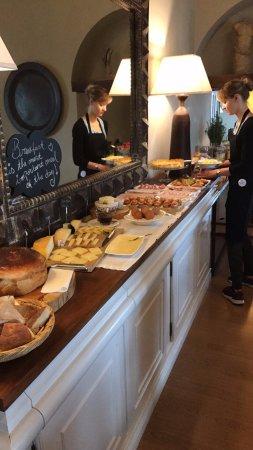 Quinta da Abelheira: breakfast bar