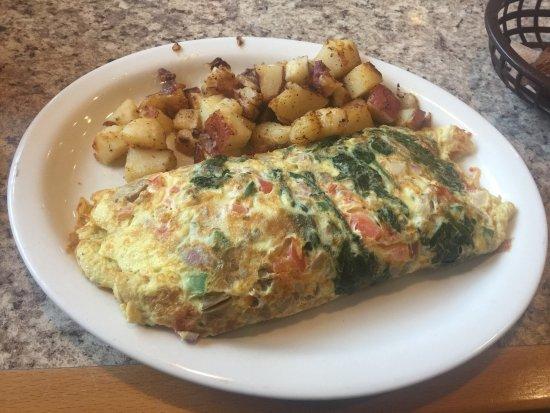 Southern Sunrise Pancake House : Vegetarian omelette