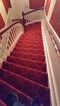 Hotel Rembrandt: Steep....