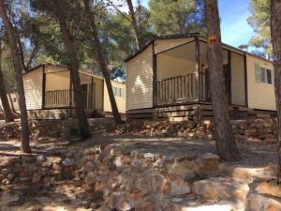 mobil-home - bild von camping le bois de pins, salses-le-chateau