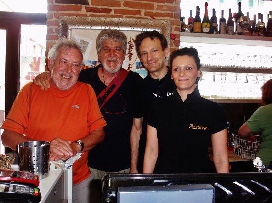 Cascina, Italia: Con Alessandro e Azzurra