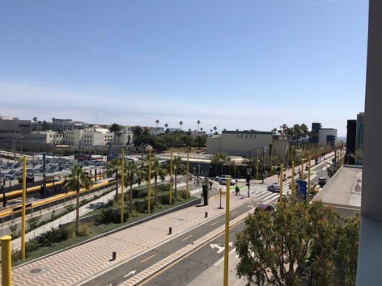 View from 3rd floor room picture of courtyard by for Flooring santa monica