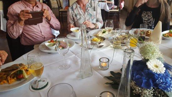 Stemwede, Tyskland: Abendessen