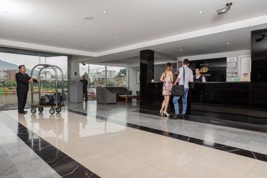 Tambo Real Hotel: Recepción