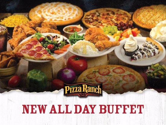 pizza ranch endless variety on the buffet chicken pizza salad bar