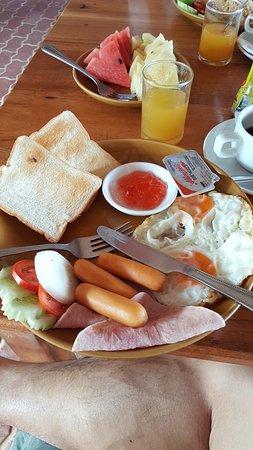 Кантанг, Таиланд: Continental breakfast set