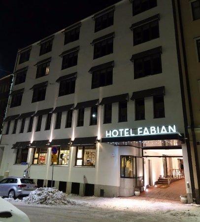 Fabian Hotel : Entrance