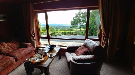 Drumcliff, Irlanda: view from living room