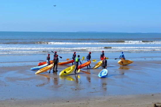 Pendine, UK: Sit-on-top Sea Kayaking