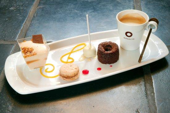 Gembloux, Belgique : Café Gourmand