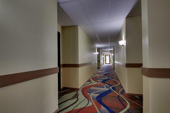 Heritage Grand Inn: Hallway