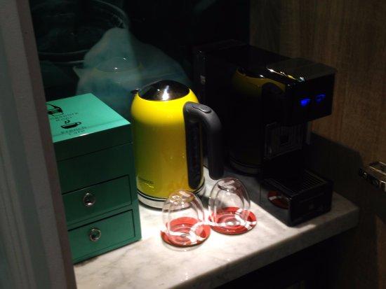Mini Bar Coffee Machine Picture Of So Sofitel Singapore