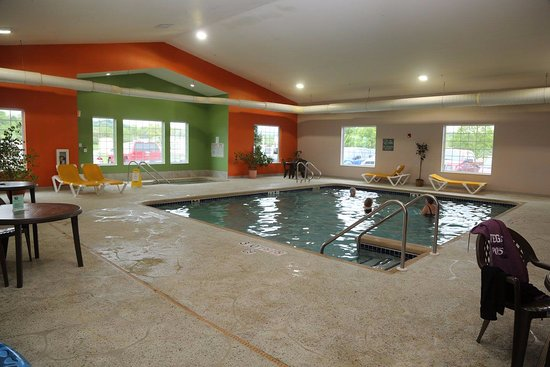 Hillsboro, WI: Saline Pool and Spa