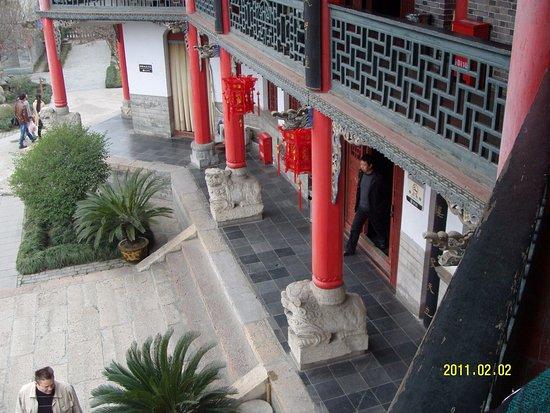 Hanzhong, China: дворец