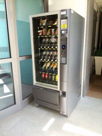 Medea Hotel: Distributore automatico di bevande e snack al 1°piano dell'hotel