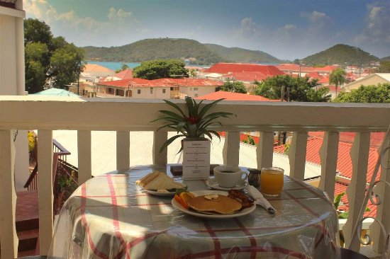 Balcony - Picture of Bunker Hill Hotel, St. Thomas - Tripadvisor
