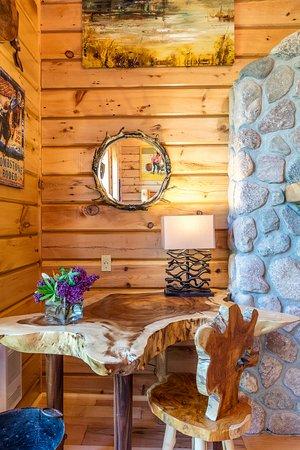 Chatham, Καναδάς: Log Cabin