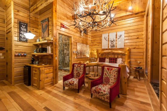 Chatham, Canada: Log Cabin