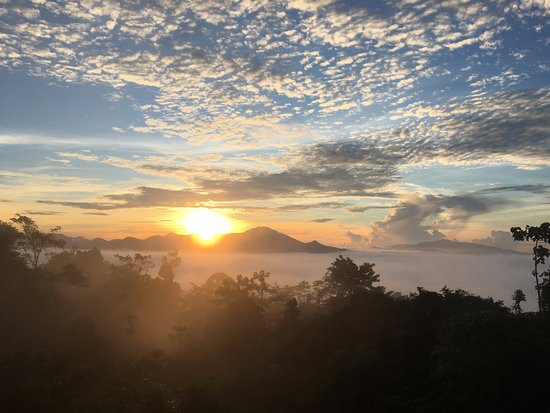 Lahad Datu, Malaysia: Morning view on the drive