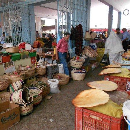 Marché central Menzel Temime