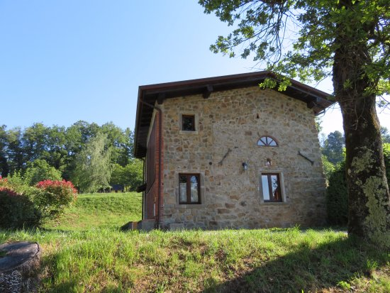 Pieve Fosciana, Italien: The chalet I stayed in