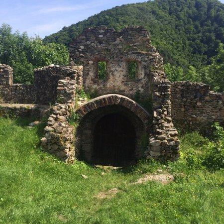 Cisnadioara, Rumania: Another exit within the walls