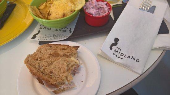 The Rotunda Bar: Great sandwiches