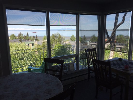 Susitna Place: View from the breakfast room