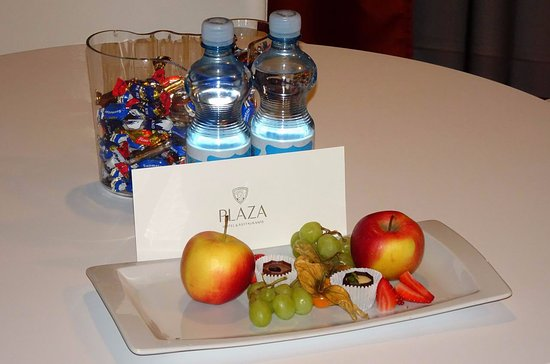 Radisson Blu Plaza Hotel, Helsinki: Welcome pack for Executive Suite #353