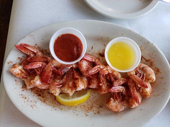 Harbor Island, SC: Peel and eat shrimp appetizer