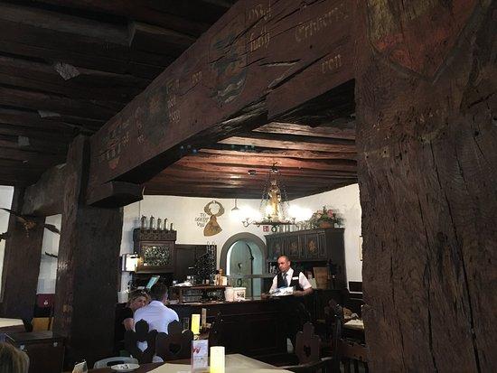 Schlosswirtschaft Schattenburg: interni Sala dei Cavalieri