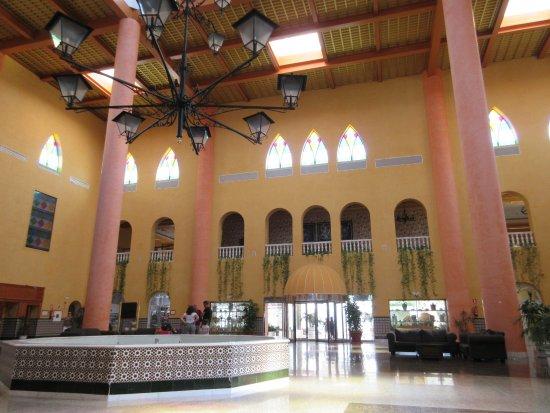 hall d\'entrée. - Bild von Playacartaya Spa Hotel, Cartaya - TripAdvisor