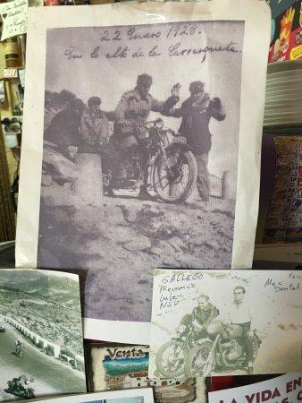 Jijona, Spain: Fantastico X motociclisti di tutti i generi ed etá... tappa X i viaggiatori, un piacere essere a