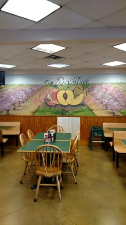 Fort Valley, GA: Peach ice cream