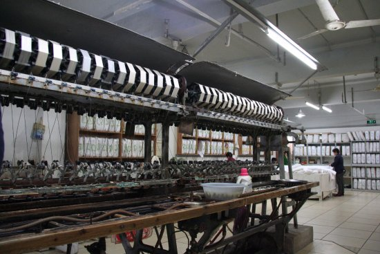 Fake Silk Picture Of Shanghai Jiangnan Silk Museum