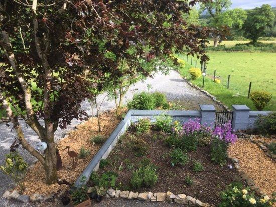 Dromahair, Irland: vieuw of the front garden