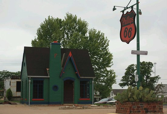 Chandler, OK: Route 66 Interpretive Center