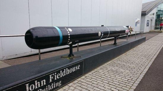 Royal Navy Submarine Museum: Mk8 Torpedo