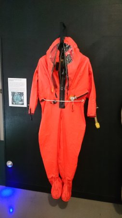 Royal Navy Submarine Museum: Suit for submariners to wear in event of escape