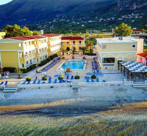 Paradise Review Of Konstantin Beach Hotel Europe Greece Ionian Islands Zakynthos Alykes