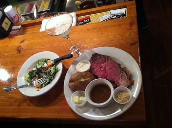 Wadesboro, Caroline du Nord : Prime Rib on Friday & Saturday nights. 8oz or 12oz with baked potato.
