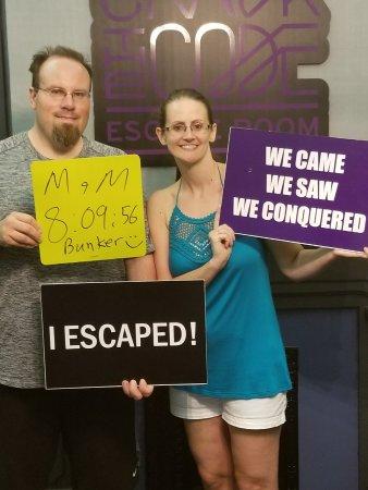 สทอนตัน, เวอร์จิเนีย: We did it!!