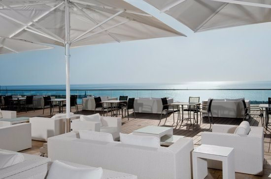 Shalom Hotel & Relax Tel Aviv - an Atlas Boutique Hotel: sunroof with seaside