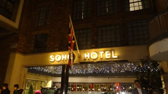 The Soho Hotel: Ingresso Hotel Soho