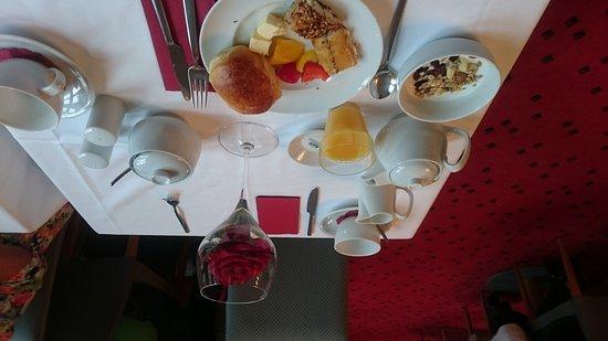 Hotel Michaelis: Sehr leckeres Frühstück und Zimmer zum wohlfühlen